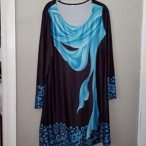 SUMMER Tunic Dress 3XL Stretch